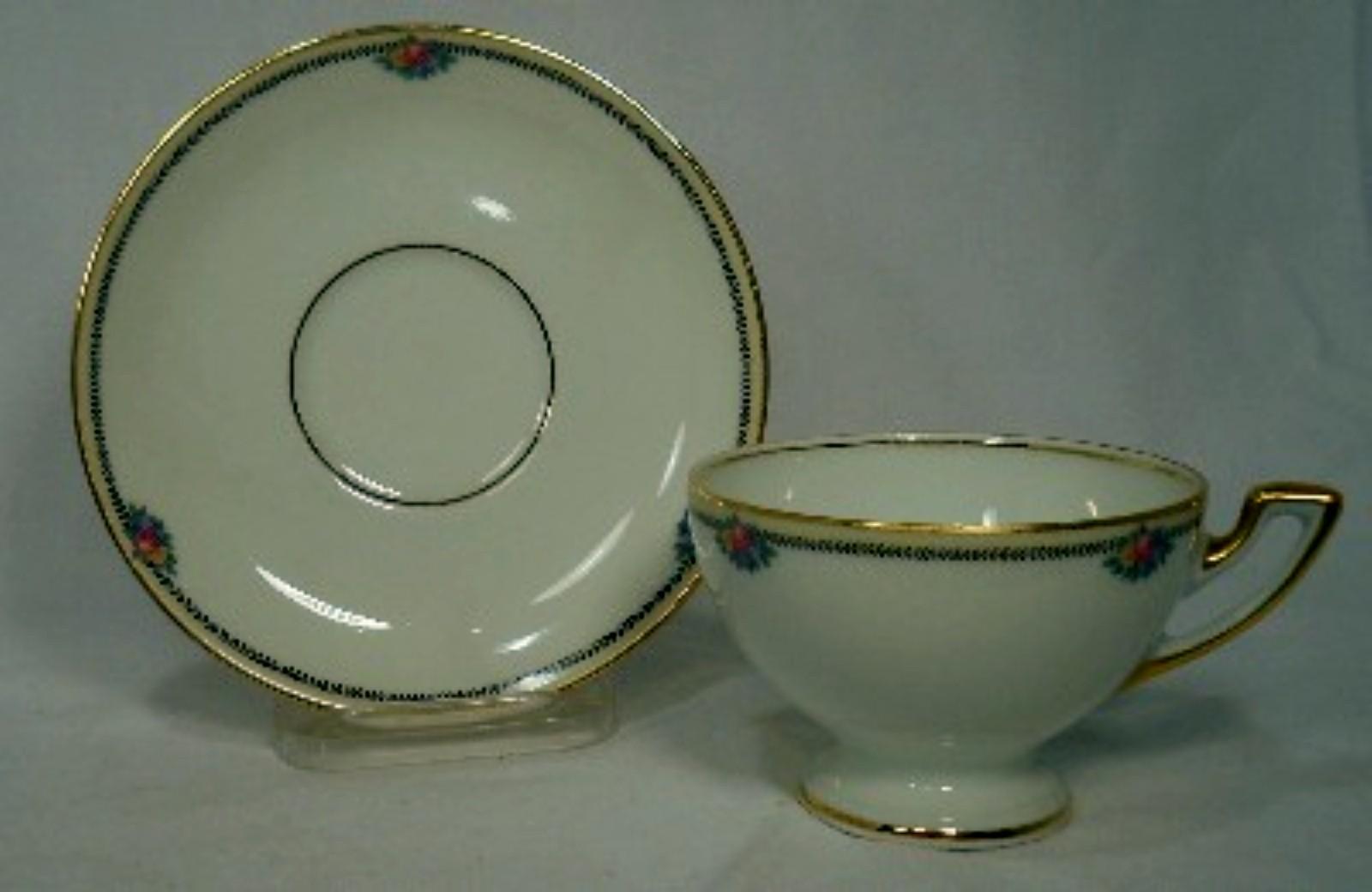 Thomas Bavaria Rosenthal China Rose Point Pattern Cup